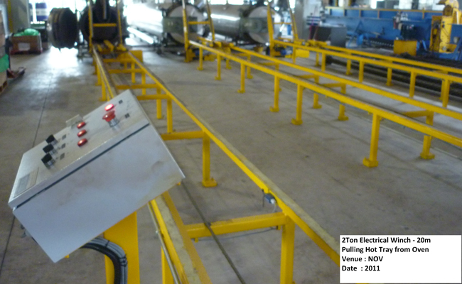 2 ton Winch Pipe puller