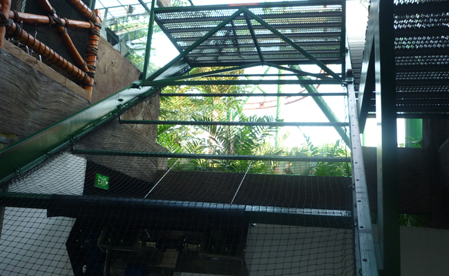 RESCUE WINCH AT UNIVERSAL STUDIOS SINGAPORE