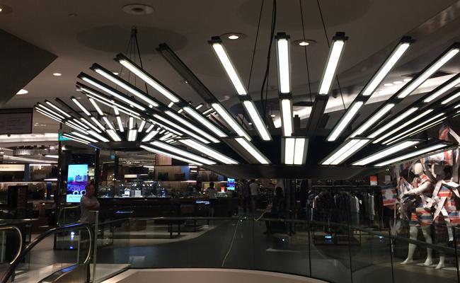 Tang Plaza Mall Lightings