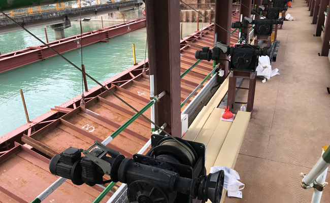 Water Gate Control System